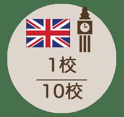 イギリス 1校/10校