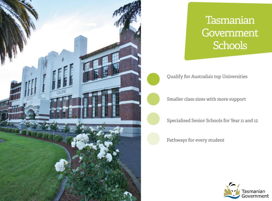 タスマニア州立校の教育水準