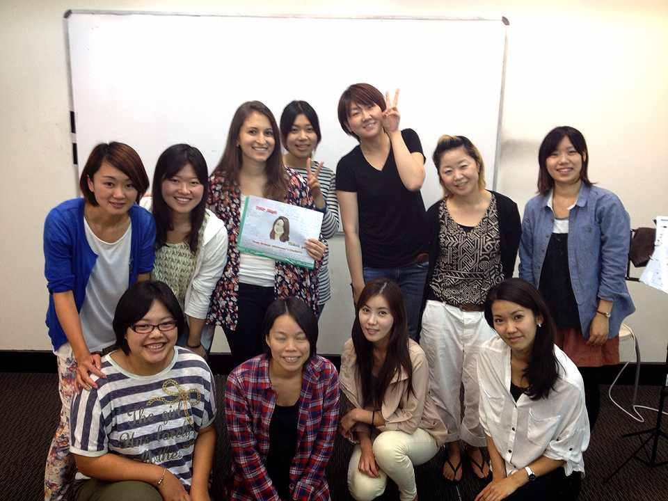 JET English Collegeのクラスメンバー