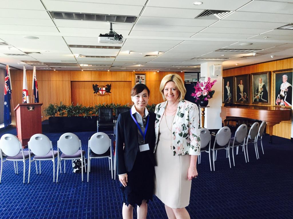 西オーストラリア州都パース市長(パース市庁舎訪問)