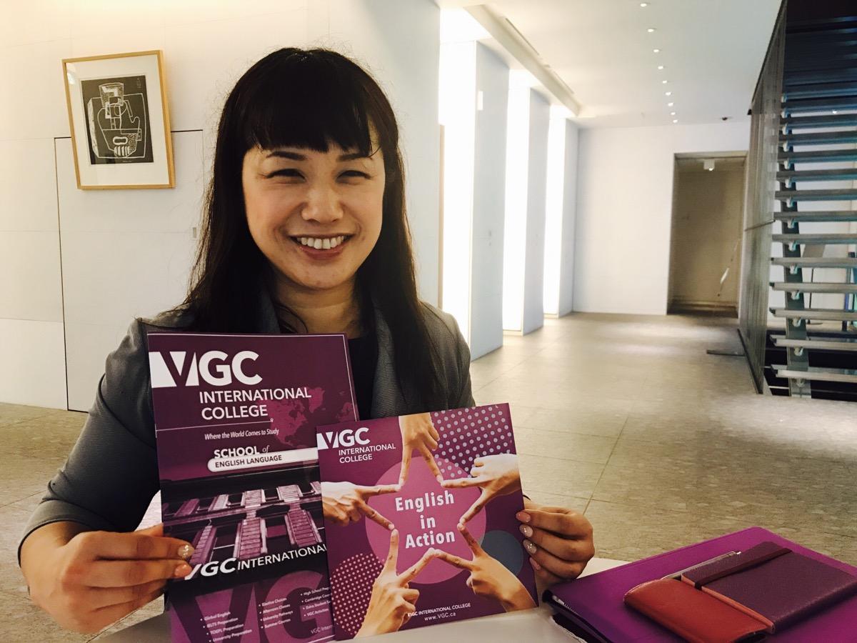 VGC International College日本人カウンセラーの宮地千恵