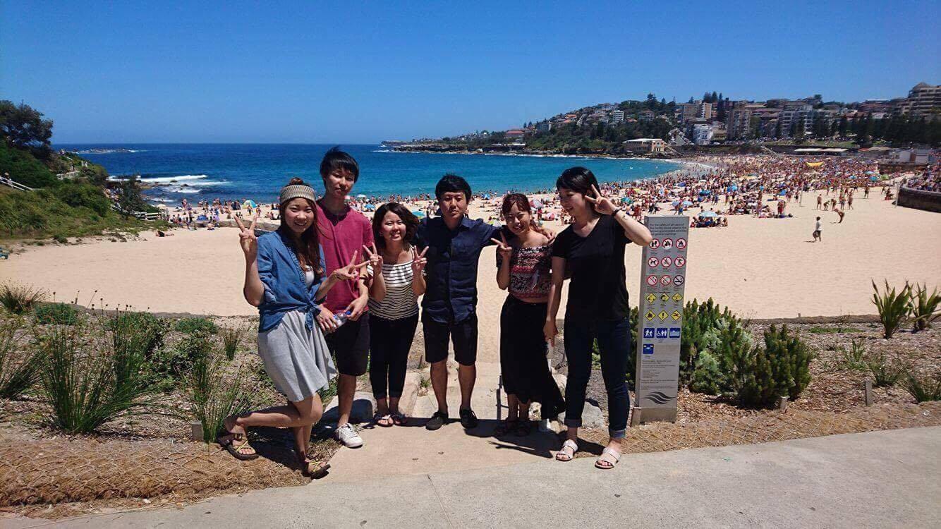 シドニーの海